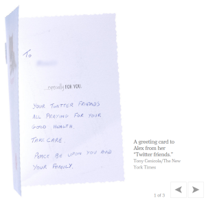 Greeting Cards From 'Twitter Friends' - New York Times